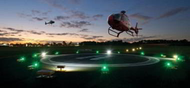 Solar Heliport Lighting